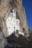 Ostrog ortodox monastery Royalty Free Stock Photo
