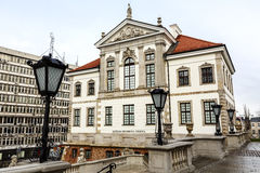 Ostrogski宫殿, Fryderyk肖邦博物馆 库存图片