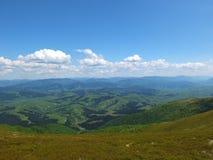 Ostrosłup góry w dzikim Fotografia Royalty Free