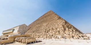 Ostrosłup Khufu w Egipt fotografia stock