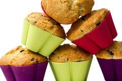 Ostrosłup muffins Zdjęcie Royalty Free