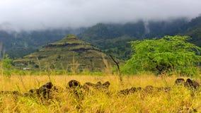 Ostrosłup przy Waianae doliną Fotografia Royalty Free