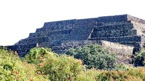 Ostrosłup ruiny San Felipe los Alzati, Zitacuaro, Meksyk obrazy stock