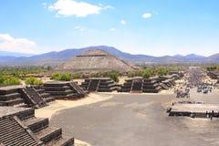 Ostrosłup słońce, Teotihuacan, Meksyk Obraz Royalty Free