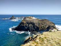 Ostrosłup skała przy Phillip wyspą, Australia Fotografia Stock