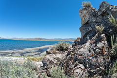 Ostrosłupa Jezioro, Nevada Fotografia Royalty Free