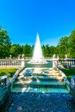 Ostrosłup fontanna w Peterhof Zdjęcie Royalty Free