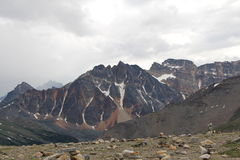 Ostrosłup góry jaspis Obraz Royalty Free