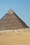 Ostrosłup Giza, Egipt Zdjęcie Stock