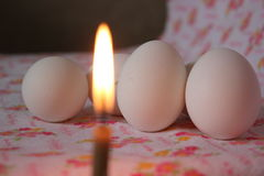 Ostrosłup jajka Fotografia Royalty Free