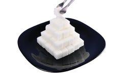 ostrosłupa cukier Zdjęcia Stock