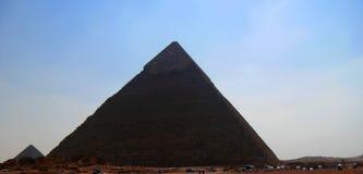 Ostrosłupy w pustyni Egipt w Giza Fotografia Royalty Free