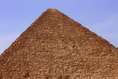Ostrosłupy w pustyni Egipt w Giza Zdjęcie Royalty Free