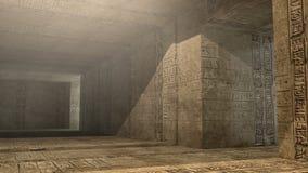 Ostrosłupa wnętrza SCIFI Fotografia Royalty Free