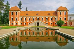 Ostrov palace Stock Photos