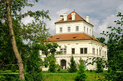Ostrov white palace Royalty Free Stock Photography