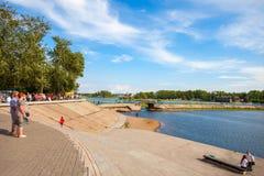 Ostrov Yunosti in Irkutsk Royalty Free Stock Photos