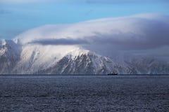 Ostrov  Zav´yalova. Coast of the island of  Zav´yalova, Sea of Okhotsk, Magadan region Stock Photos