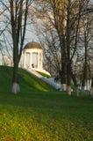 Ostrovsky paviljong i Kostroma, Ryssland Royaltyfri Foto