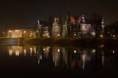 Ostrow Tumski w Wrocławskim Zdjęcie Stock