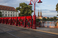 Ostrow tumsky wroclaw poland europe Royalty Free Stock Photography