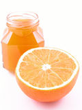 Ostruzione arancione Fotografie Stock Libere da Diritti