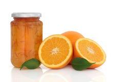 Ostruzione della marmellata d'arance Immagini Stock Libere da Diritti