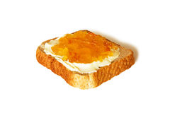 Ostruzione di diffusione del pane tostato Fotografia Stock