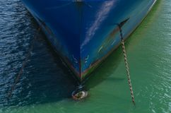 ostry łęk statek Zdjęcie Royalty Free