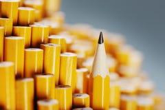 Ostry ołówek zdjęcie stock