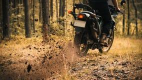 Ostry początku enduro motocykl Zdjęcia Royalty Free