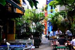 Ostry pub przy Haji pasem ruchu Zdjęcia Royalty Free