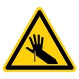 Ostry punktu symbolu znak Odizolowywa Na Białym tle, Wektorowa ilustracja ilustracja wektor