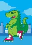 ostry rex ilustracji
