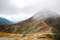 Ostry Rohac peak at Tatras Stock Photography
