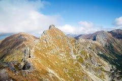 Ostry Rohac szczyt przy Tatras Obraz Royalty Free