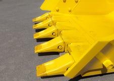 ostrza buldozer Fotografia Royalty Free