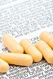 ostrzeżenie leków Fotografia Stock