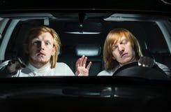 Ostrzeżenie półsenni kierowcy Fotografia Stock
