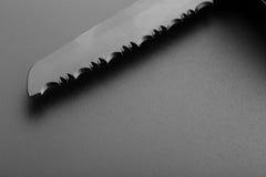 ostrze noża serrated Fotografia Stock