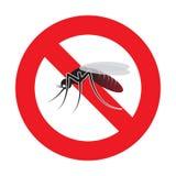Ostrzegawczy komar Zdjęcia Stock