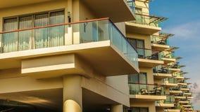 Ostrzy balkony zdjęcie royalty free