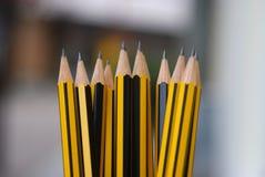 Ostrzy ołówki Obrazy Stock