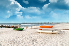 Ostsee Allemagne Photographie stock
