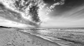 Ostsee coast germany Royalty Free Stock Photography
