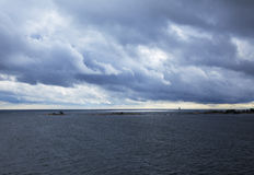 Ostsee, Finnisches Meerbusen Lizenzfreie Stockfotografie