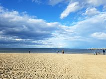 Ostsee. Strand an der Ostsee Royalty Free Stock Image