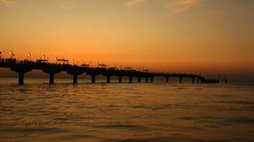 Ostsee während des Sonnenuntergangs Stockfoto
