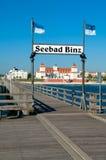 Ostseebad Binz, остров Ruegen, Германия стоковые фотографии rf
