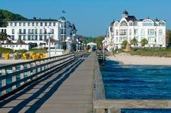 Ostseebad Binz royalty free stock images